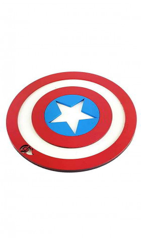 Tapete 3D Sapiens Hero - Captain America