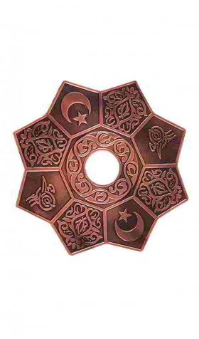 Plato Copper Mandala