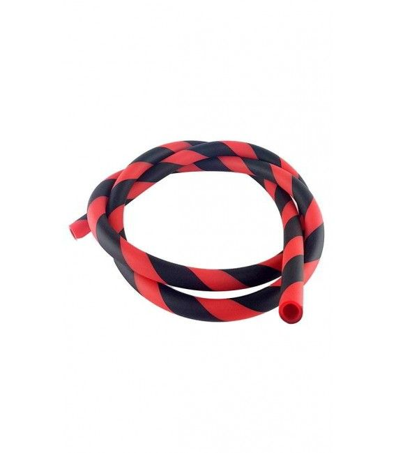 Manguera Soft Stripped - Black/Red