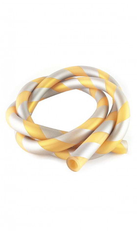 Manguera Soft Stripped - Gold/Silver