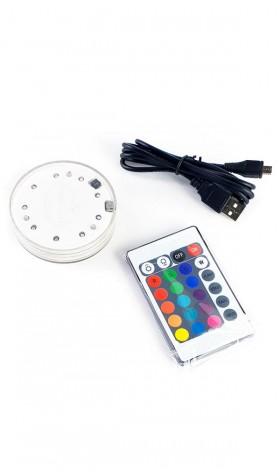 LED con batería recargable USB
