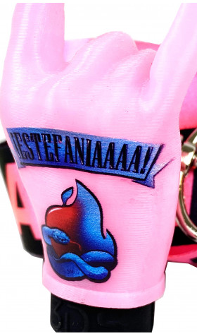 Boquilla 3DS + Lanyard - Estefania Pink