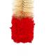 Cepillo con punta de lana 50cm (rojo)