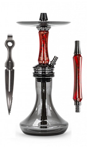 Cachimba Ocean Kaif S - Black Apple Red