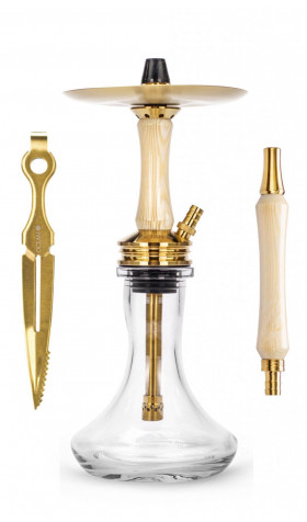 Cachimba Ocean Kaif S - Gold White Wood