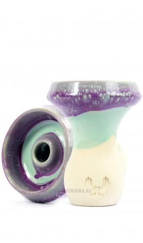 Cazoleta Mud Bowl Faenza - Purple Aqua