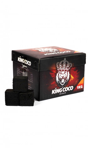 Carvão King Coco 28mm 1kg