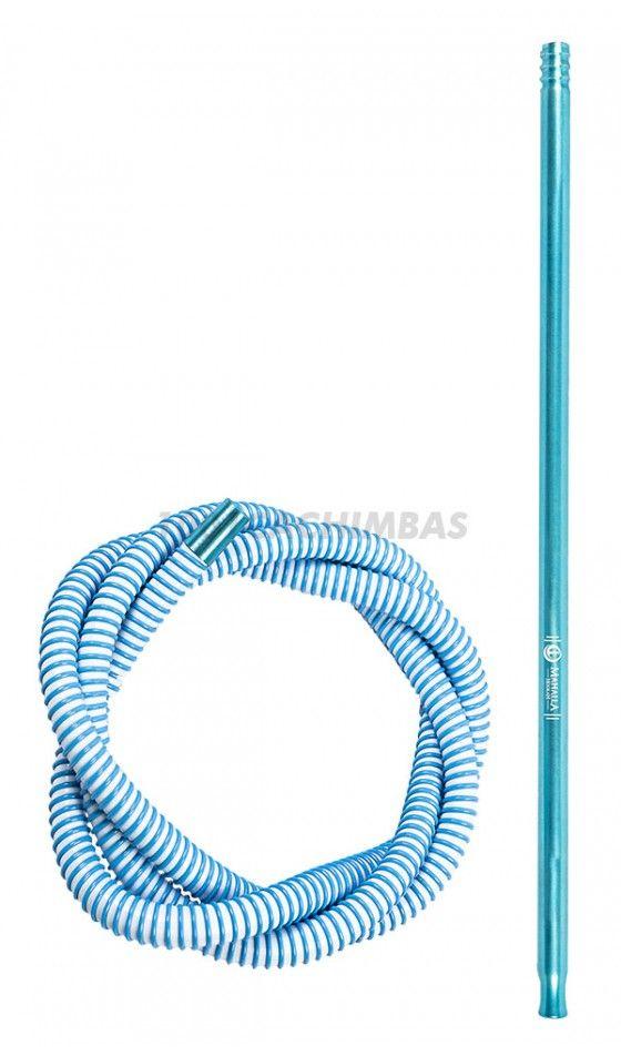Mangueira Mahalla completa - Blue/White