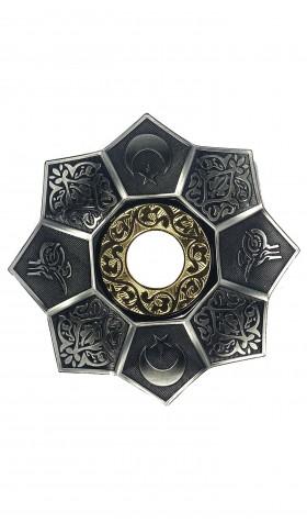 Prato EBS Lotus 22cm - Silver/Gold