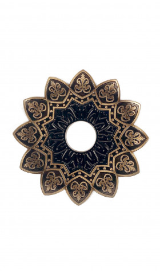 Plato EBS Curvado 18cm - Copper/Black