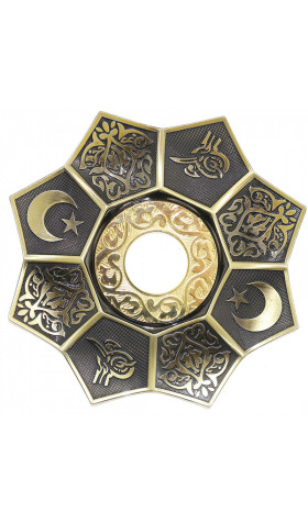 Plato EBS Lotus 22cm - Copper/Gold