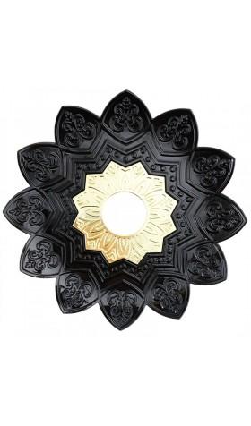 Plato EBS Curvado 23cm - Black/Gold