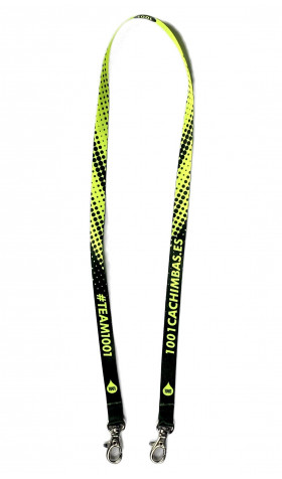 Colgante para mascarilla 1001 - Yellow Neon