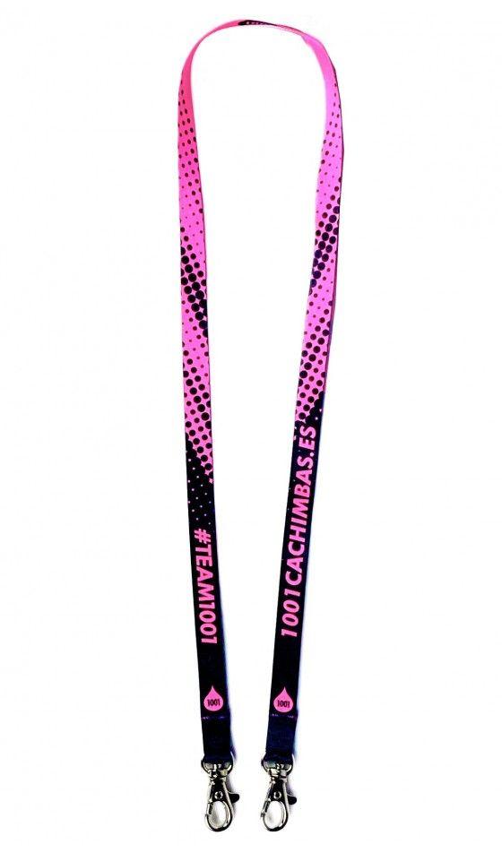Colgante para mascarilla 1001 - Pink Neon