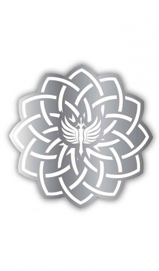 Tapete Antideslizante Sword - Silver/White