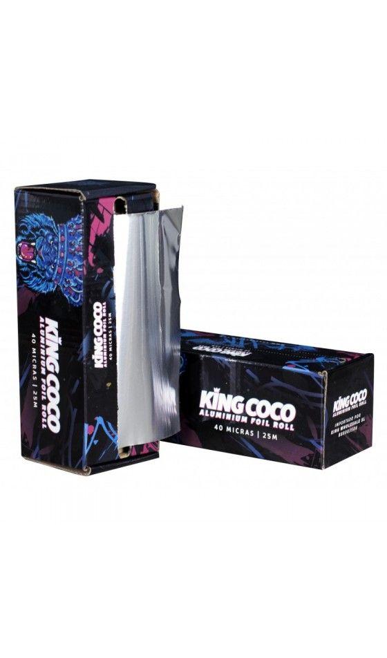 Rollo de aluminio King Coco 40 micras