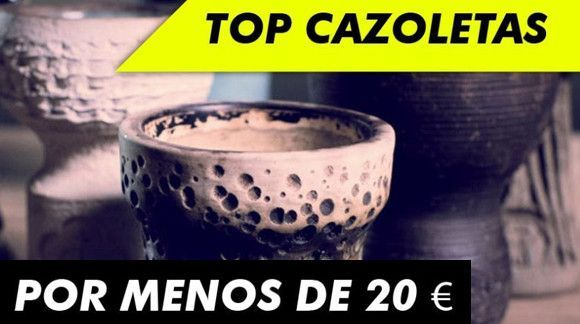 Las mejores Cazoletas para Cachimbas por menos de 20 €
